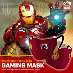 Masker Gaming Scuba Premium Team Liquid Marvel Edition - Ironman