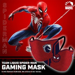 Masker Gaming Scuba Premium Team Liquid Marvel Edition - Spiderman