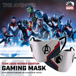 Masker Gaming Scuba Premium Team Liquid Marvel Edition - The Avengers