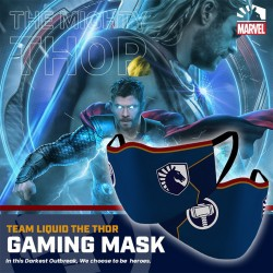 Masker Gaming Scuba Premium Team Liquid Marvel Edition - Thor