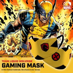 Masker Gaming Scuba Premium Team Liquid Marvel Edition - Wolverine
