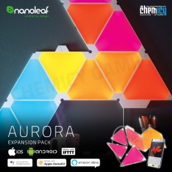 Nanoleaf Aurora Expansion Pack LED RGBW Light Panels