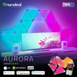 Nanoleaf Aurora Smarter Kit LED RGBW Light Panels