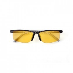 Hindar Anti Blue Light Gaming Glasses - Black Amber