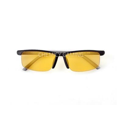 Hindar Anti Blue Light Gaming Glasses - Black Amber