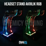 Akrilik Headset Stand RGB LED