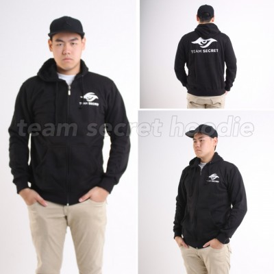 Team Secret Black Hoodie
