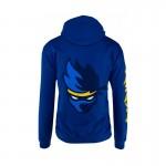 Team Ninja Shuriken Blue Hoodie