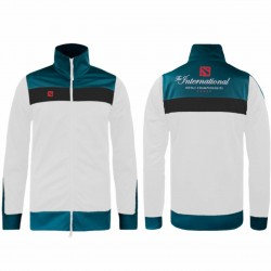 Dota 2 International 2017 Jacket White Green