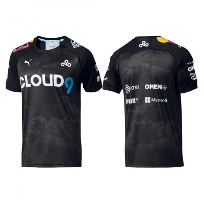 Cloud9 Puma Black Jersey