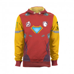 Team Liquid Marvel Iron Man Jumper