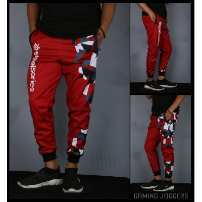 Steelseries Arctis Jogger Pants Red