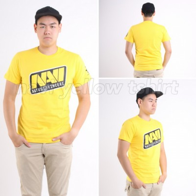 Navi Yellow T-Shirt