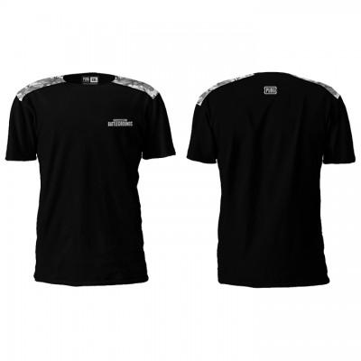 PUBG Camo Black T-Shirt