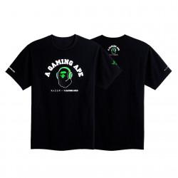 Razer BAPE A Bathing Ape T-Shirt Black