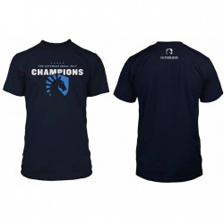 Liquid Champions Blue T-Shirt 2017