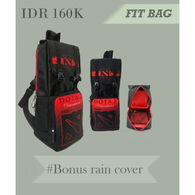 Fit Bag Dota 2 Red
