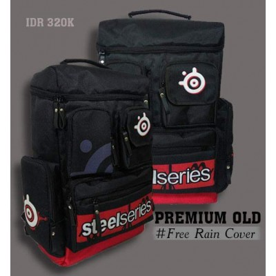 Backpack Premium Old Steelseries Red