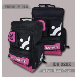 Backpack Premium Old Steelseries Pink