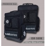 Backpack Premium Old Steelseries Black