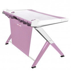 DXRacer Gaming Desk Pink GD/1000/PW