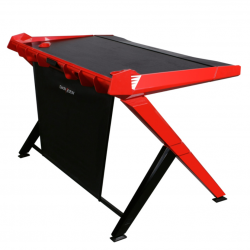 DXRacer Gaming Desk Red GD/1000/NR