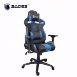 Sades Sirius Gaming Chair Black/Blue