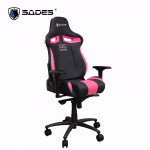 Sades Sirius Gaming Chair Black/Pink