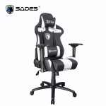 Sades Sirius Gaming Chair Black/White