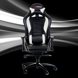 STracing Gaming Chair Classic Series - Black White