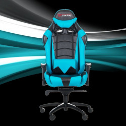 STracing Gaming Chair Racing Series - Black Cyan
