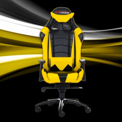 STracing Gaming Chair Racing Series - Black Yellow