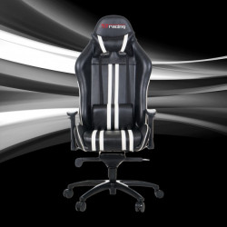 STracing Gaming Chair Sport Series - Black White