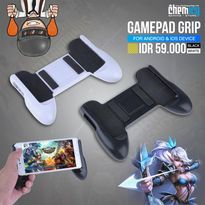 Gamepad Grip For Smartphone Android / iOS