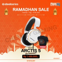 Steelseries Arctis 5 White 2019