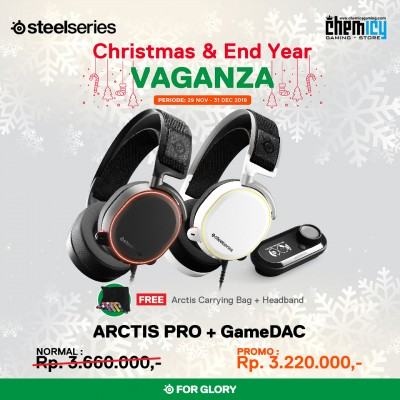 Steelseries Arctis Pro + Game DAC Black
