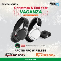 Steelseries Arctis Pro Wireless Black