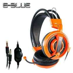 E-Blue Cobra Headset Orange