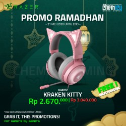 Razer Kraken Kitty Pink