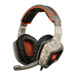 Sades Spirit Wolf 7.1 Surround - Camo