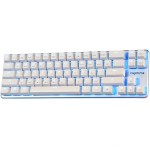 Magicforce Smart 68 Silver Case Ice Blue LED - Cherry MX