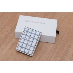 Varmilo VA22M Numpad Mechanical White PBT White LED