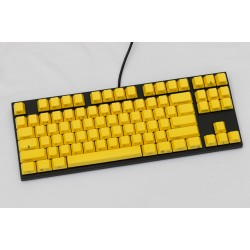 Varmilo VA87M Black Case Yellow PBT Non-Backlit Gateron