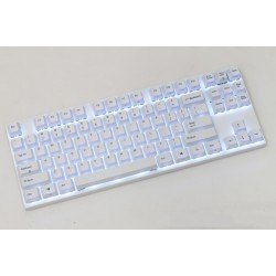 Varmilo VB87M Bluetooth White Case White Dye PBT White LED Gateron