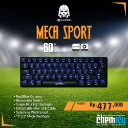 Digital Alliance Meca Sport Blue LED