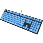 Ducky One Fullsize Black Non-Backlit PBT Blue