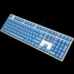 Ducky One Fullsize White Non-Backlit PBT Blue