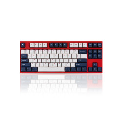 Leopold FC750R White Blue Star