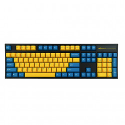 Leopold FC900R Yellow Blue