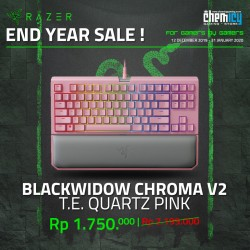 Razer Blackwidow Tournament Edition Chroma V2 Quartz